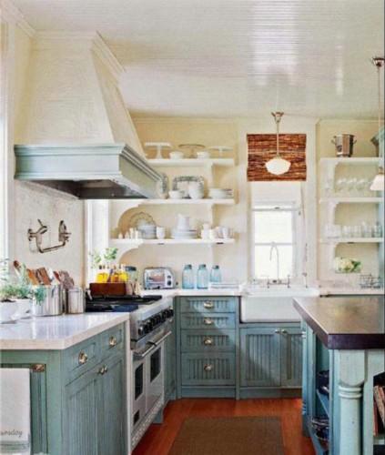 三种不同形态厨房岛台 回归乐居生活