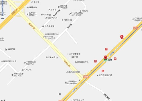 地铁出口:a 公交站名:361 动物园—坪地汽车站,661 石岩湖度假村 —