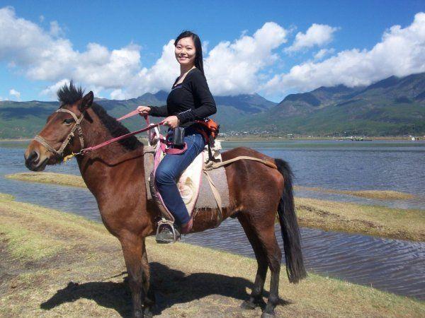 三十一, 不要在郑州黄河游览区骑马.