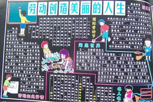 五一劳动节手抄报_关于劳动节手抄报内容