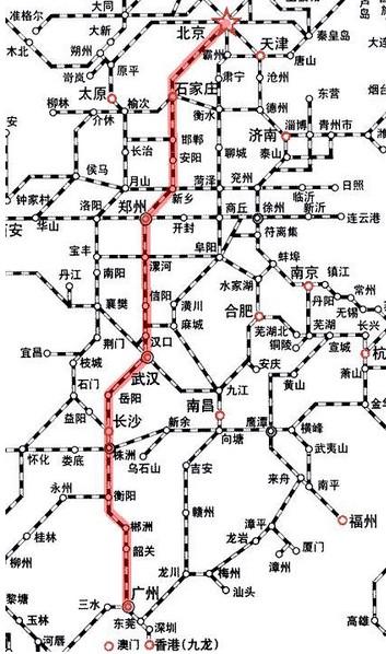西安到乌鲁木齐火车路线详细图